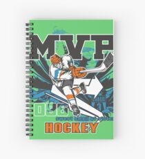 MVP - Most Valuable Player Hockey Spiral Notebook