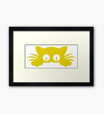 Cat Pussies Framed Print