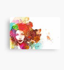 Colourful Beauty Canvas Print