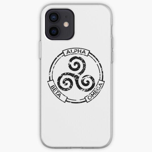 Alpha Beta Omega (Black) - Teen Wolf iPhone Soft Case