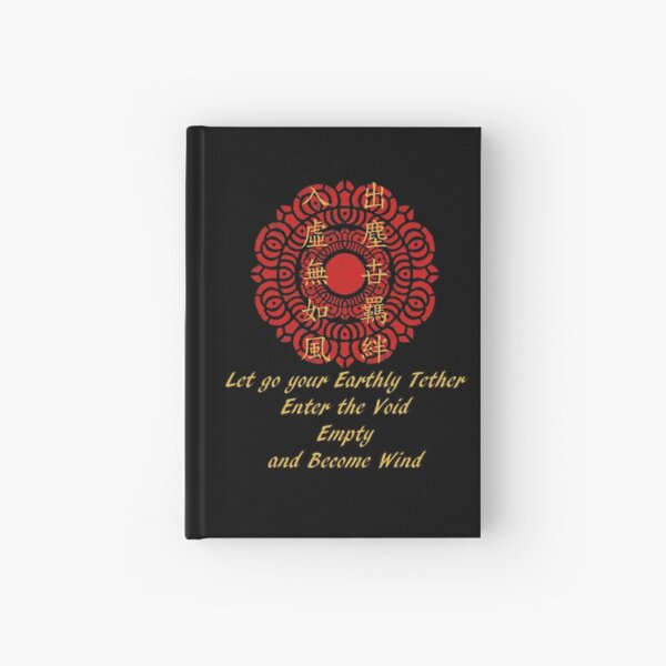 Let Go Your Earthly Tether - The Legend of Korra Hardcover Journal