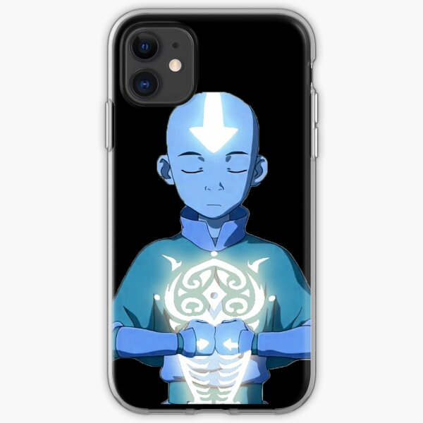 Aang's Avatar State with Raava iPhone Soft Case