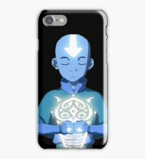 Aang's Avatar State with Raava iPhone Case/Skin