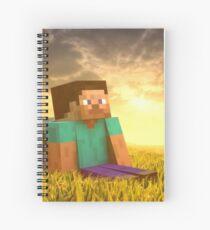 Minecraft Steve Spiral Notebook