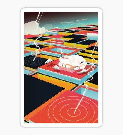 Dreamworld - Landscape Sticker