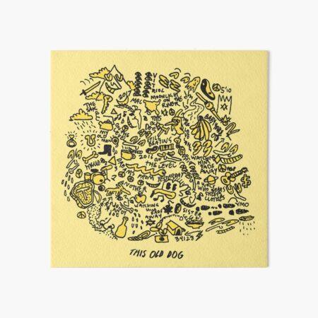 Mac DeMarco 'This Old Dog' Album Art Board Print