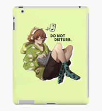 Do not disturb. iPad Case/Skin