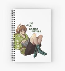 Do not disturb. Spiral Notebook