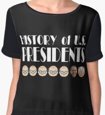 History of U.S. Presidents Chiffon Top