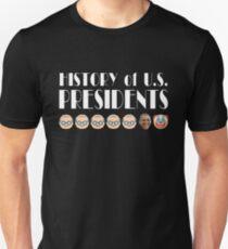 Geschichte der US-Präsidenten Slim Fit T-Shirt