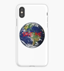 Earth Day Save The Planet iPhone Case/Skin