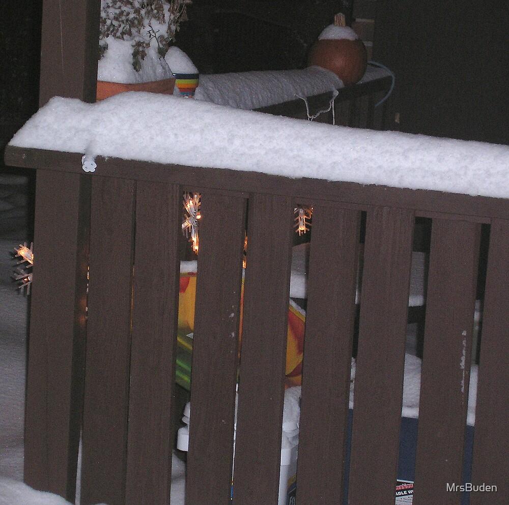Winter Porch by MrsBuden