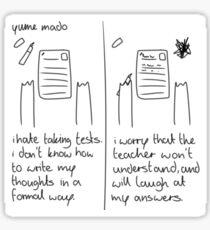 exam Sticker