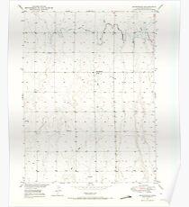 USGS TOPO Map Colorado CO Sunnydale 234659 1949 24000 Poster
