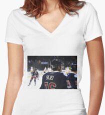 Brady Skjei Women's Fitted V-Neck T-Shirt