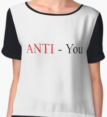Anti You Women's Chiffon Top
