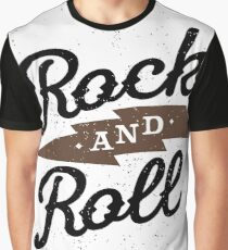 Rock and Roll Graphic T-Shirt
