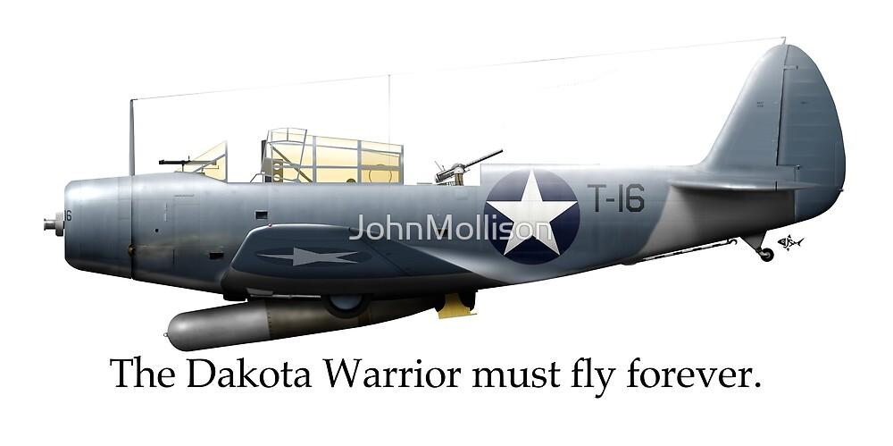 The Dakota Warrior - a Tribute to Torpedo 8 and LtCDR John Waldron by JohnMollison