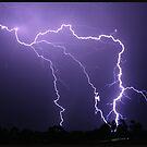 Hunter Valley Storm by Kim Roper