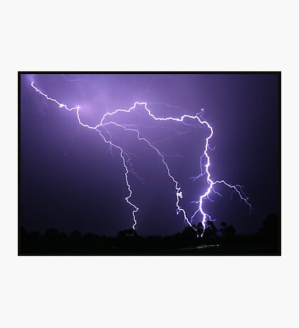 Hunter Valley Storm Photographic Print