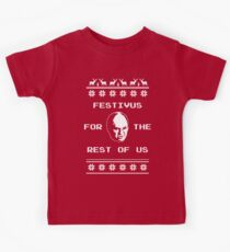 Festivus For The Rest of Us Ugly Holiday Sweater Kids Tee