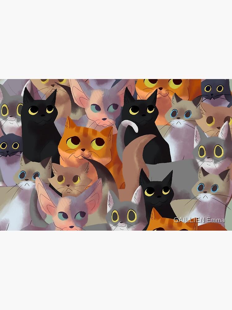 Lotsa cats by CookieKipenda
