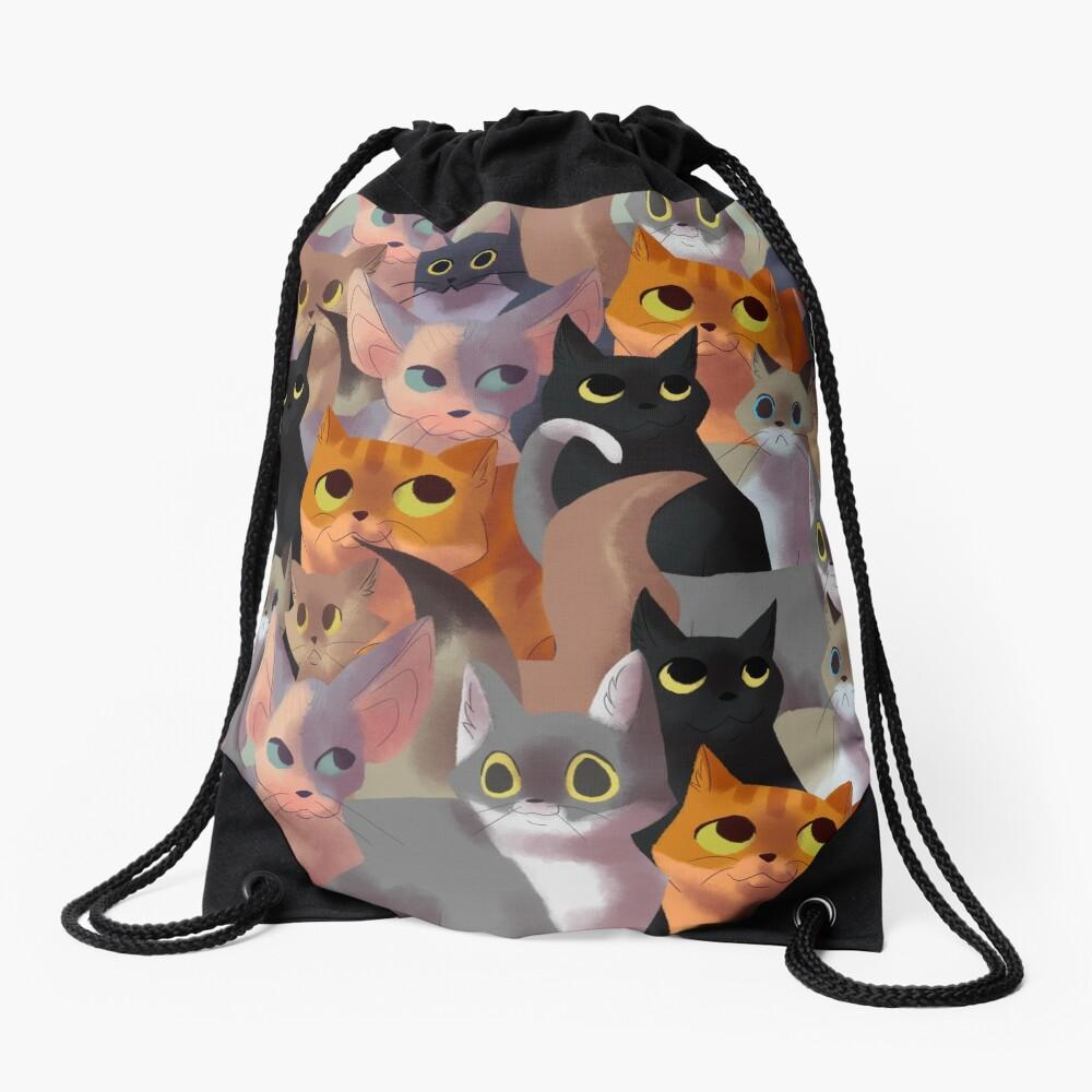 Viele Katzen Turnbeutel