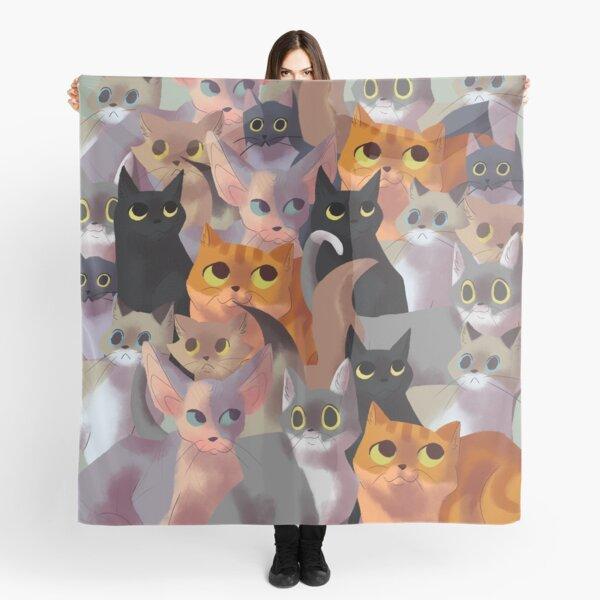 Lotsa cats Scarf