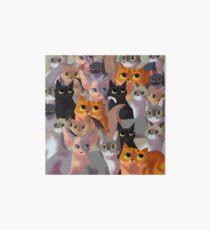 Lotsa cats Art Board