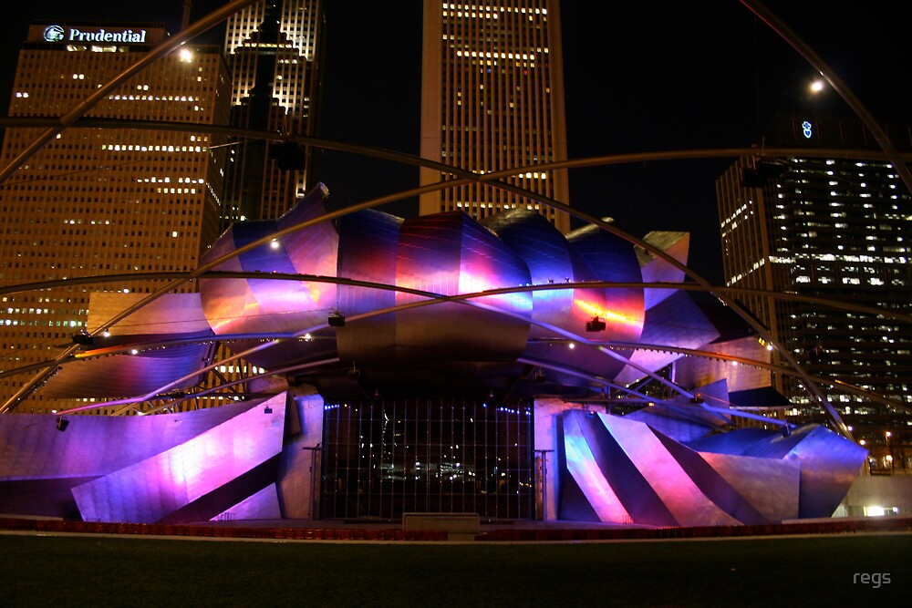 millennium park, chicago by regs