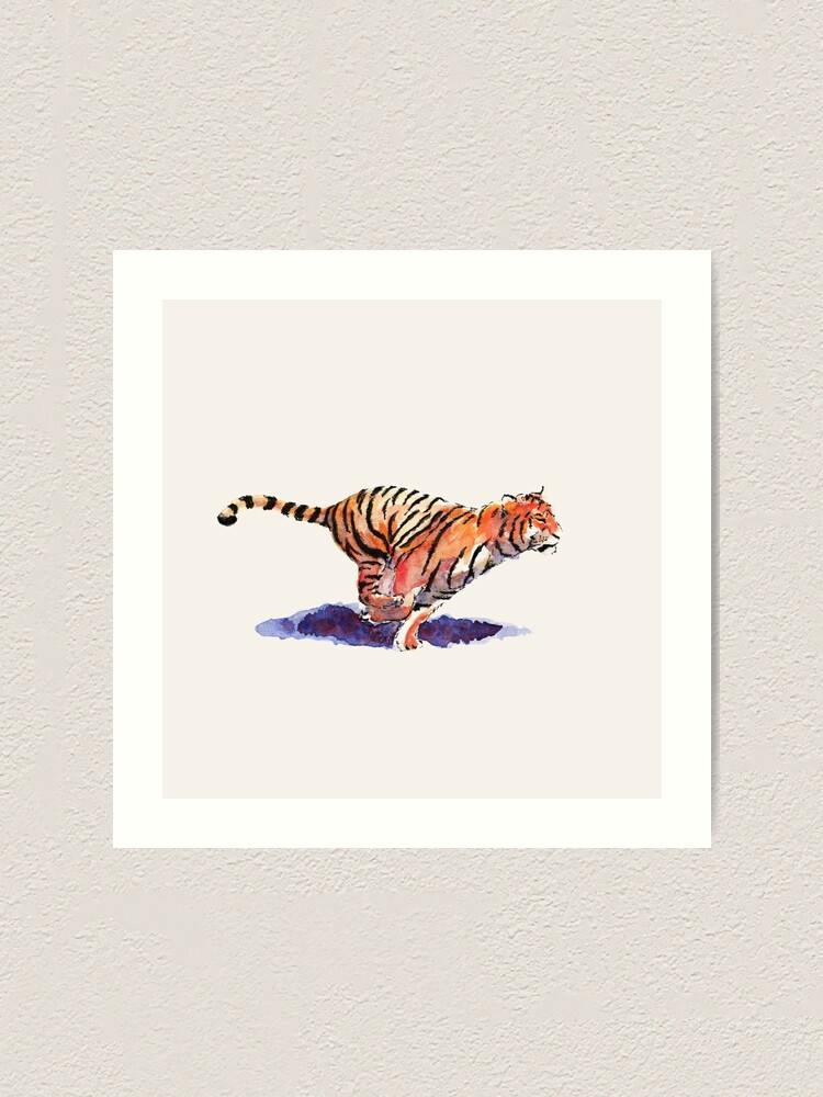 Alternate view of The Tiger Art Print