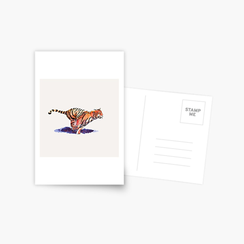 The Tiger Postcard