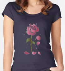 Rose Princess - Movie Petals - Princess Stuff Women's Fitted Scoop T-Shirt