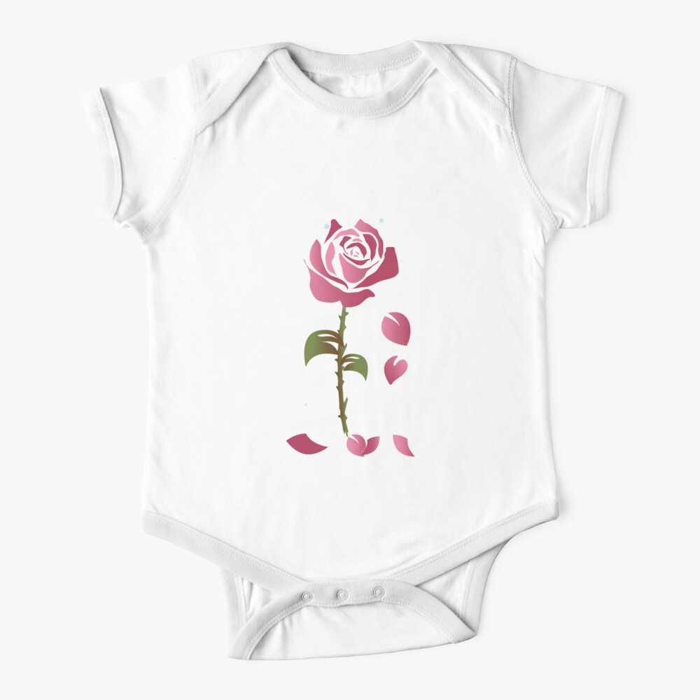 Rose Princess - Movie Petals - Princess Stuff Baby One-Piece
