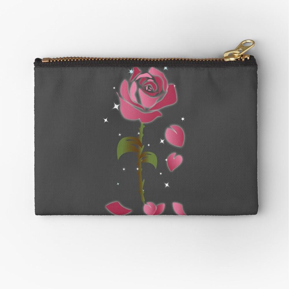 Rose Princess - Movie Petals - Princess Stuff Zipper Pouch