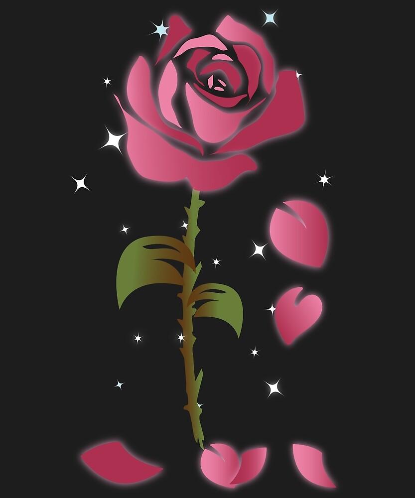 Rose Princess - Movie Petals - Princess Stuff by bkfdesigns
