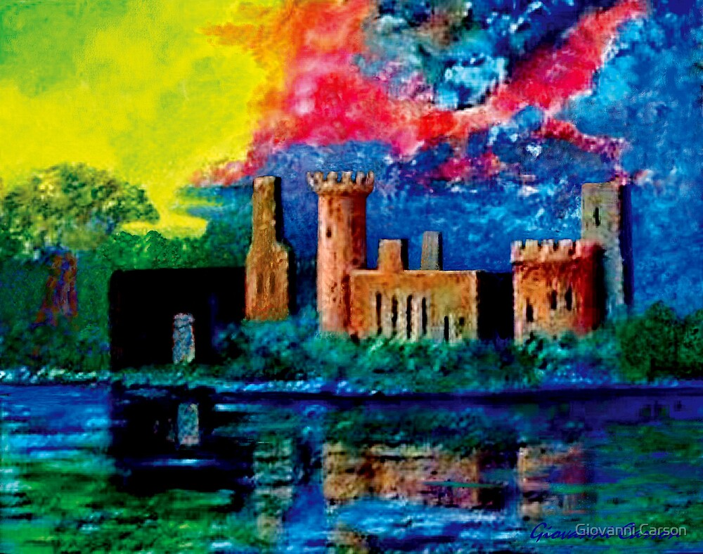 Yea old Castle Ruin by Giovanni Carson
