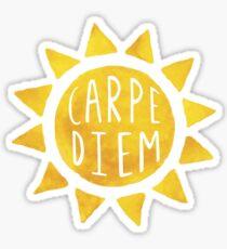 CarpeDiem Sun Sticker