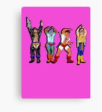 YMCA He-Man Canvas Print