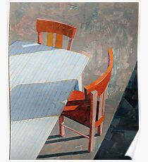 """""""Table & chairs"""" Poster"""
