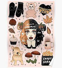 Autumn Doll2 Poster
