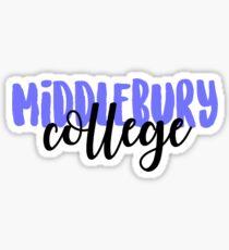Middlebury College Sticker