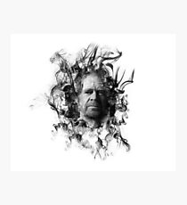 Frank Gallagher in Smoke Photographic Print