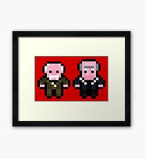 Waldorf and Statler Framed Print