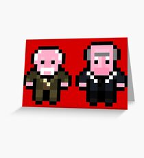 Waldorf and Statler Greeting Card
