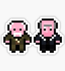 Waldorf and Statler Sticker