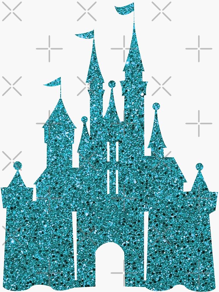 Blue Glitter by darrianrebecca