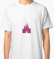 Pink Glitter Wishes Classic T-Shirt