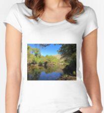 Lake Sabino Women's Fitted Scoop T-Shirt