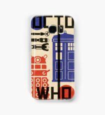 Dr Who Bauhaus Style  Samsung Galaxy Case/Skin
